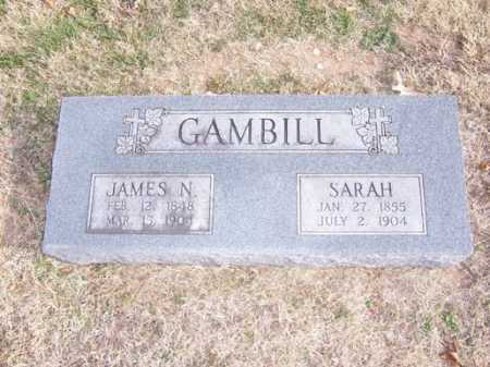 GAMBILL, JAMES N. - Washington County, Arkansas | JAMES N. GAMBILL - Arkansas Gravestone Photos