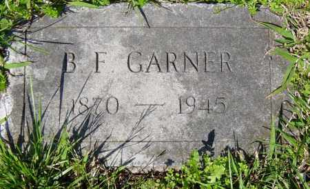 GARNER, B. F. - Washington County, Arkansas | B. F. GARNER - Arkansas Gravestone Photos
