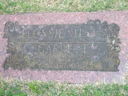GARRETT, FLOSSIE H. - Washington County, Arkansas | FLOSSIE H. GARRETT - Arkansas Gravestone Photos