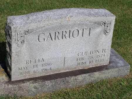 GARRIOTT, RETTA - Washington County, Arkansas   RETTA GARRIOTT - Arkansas Gravestone Photos
