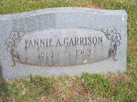 GARRISON, FANNIE A. - Washington County, Arkansas | FANNIE A. GARRISON - Arkansas Gravestone Photos