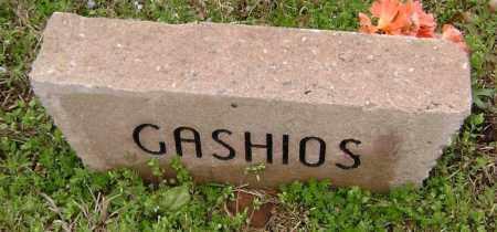 GASHIOS, UNKNOWN - Washington County, Arkansas   UNKNOWN GASHIOS - Arkansas Gravestone Photos