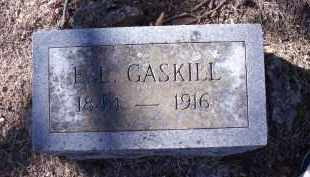 GASKILL, E.L. - Washington County, Arkansas | E.L. GASKILL - Arkansas Gravestone Photos