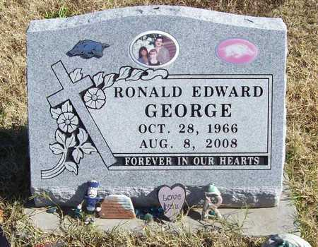 "GEORGE, RONALD EDWARD ""RONNIE"" - Washington County, Arkansas | RONALD EDWARD ""RONNIE"" GEORGE - Arkansas Gravestone Photos"