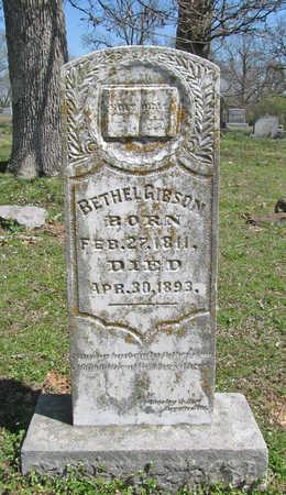 GIBSON, BETHEL - Washington County, Arkansas | BETHEL GIBSON - Arkansas Gravestone Photos