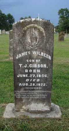 GIBSON, JAMES WILBERN - Washington County, Arkansas   JAMES WILBERN GIBSON - Arkansas Gravestone Photos