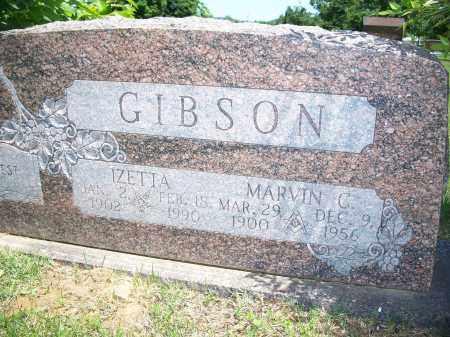 GIBSON, IZETTA - Washington County, Arkansas | IZETTA GIBSON - Arkansas Gravestone Photos