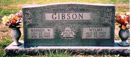WOLF GIBSON, WYLMA - Washington County, Arkansas | WYLMA WOLF GIBSON - Arkansas Gravestone Photos