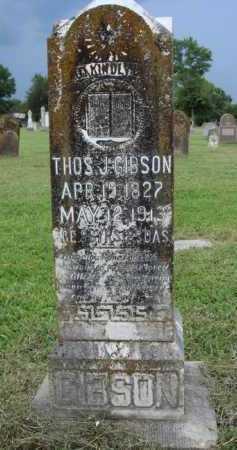 GIBSON, THOMAS J. - Washington County, Arkansas   THOMAS J. GIBSON - Arkansas Gravestone Photos