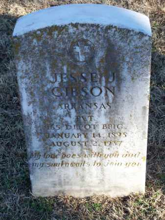 GIBSON (VETERAN), JESSE J - Washington County, Arkansas | JESSE J GIBSON (VETERAN) - Arkansas Gravestone Photos