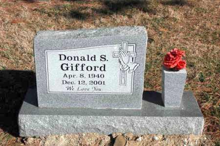 GIFFORD, DONALD - Washington County, Arkansas | DONALD GIFFORD - Arkansas Gravestone Photos