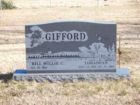 MILLER GIFFORD, LORADEAN - Washington County, Arkansas | LORADEAN MILLER GIFFORD - Arkansas Gravestone Photos