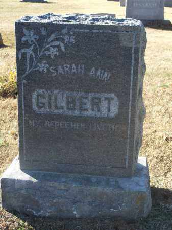 GILBERT, SARAH ANN - Washington County, Arkansas   SARAH ANN GILBERT - Arkansas Gravestone Photos