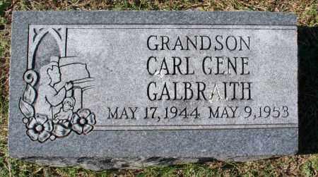 GALBRAITH, CARL GENE - Washington County, Arkansas   CARL GENE GALBRAITH - Arkansas Gravestone Photos