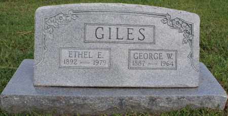 SMITH GILES, ETHEL ELIZA - Washington County, Arkansas | ETHEL ELIZA SMITH GILES - Arkansas Gravestone Photos