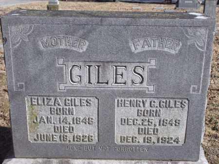 GILES, HENRY G. - Washington County, Arkansas | HENRY G. GILES - Arkansas Gravestone Photos