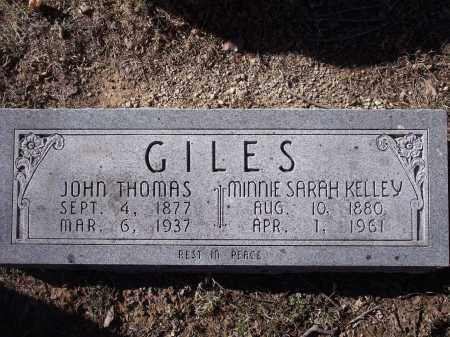 GILES, MINNIE SARAH - Washington County, Arkansas | MINNIE SARAH GILES - Arkansas Gravestone Photos