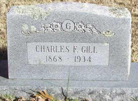 GILL, CHARLES F - Washington County, Arkansas   CHARLES F GILL - Arkansas Gravestone Photos