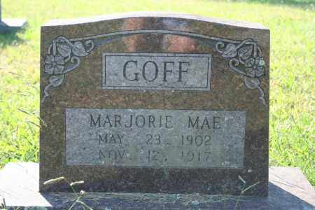 GOFF, MARJORIE MAE - Washington County, Arkansas | MARJORIE MAE GOFF - Arkansas Gravestone Photos