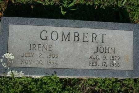 GOMBERT, IRENE - Washington County, Arkansas | IRENE GOMBERT - Arkansas Gravestone Photos