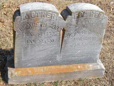GOOD, JOHN G - Washington County, Arkansas   JOHN G GOOD - Arkansas Gravestone Photos