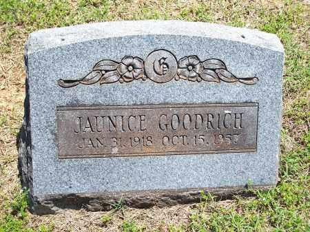 GOODRICH, JAUNICE - Washington County, Arkansas   JAUNICE GOODRICH - Arkansas Gravestone Photos