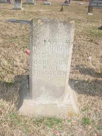 GRAHAM, J L B - Washington County, Arkansas   J L B GRAHAM - Arkansas Gravestone Photos