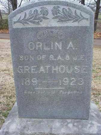 GREATHOUSE, ORLIN A - Washington County, Arkansas | ORLIN A GREATHOUSE - Arkansas Gravestone Photos