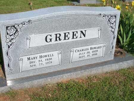 GREEN, CHARLES HOWARD - Washington County, Arkansas | CHARLES HOWARD GREEN - Arkansas Gravestone Photos