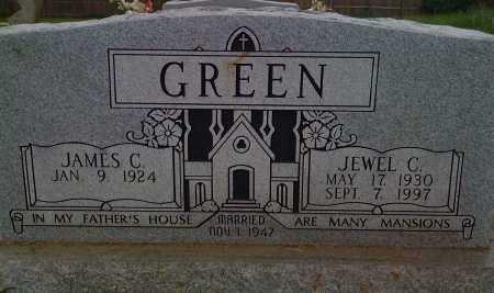 GREEN, JEWEL C. - Washington County, Arkansas | JEWEL C. GREEN - Arkansas Gravestone Photos