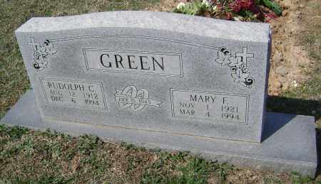 GREEN, MARY F. - Washington County, Arkansas | MARY F. GREEN - Arkansas Gravestone Photos