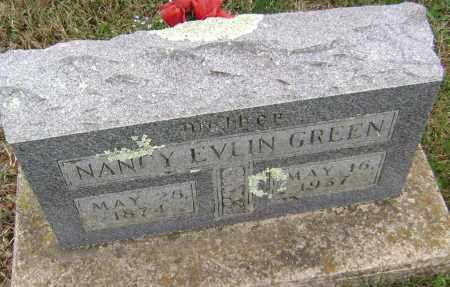 GREEN, NANCY EVLIN - Washington County, Arkansas   NANCY EVLIN GREEN - Arkansas Gravestone Photos