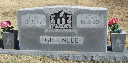 "GREENLEE, FLORENCE ""EFFIE"" MAE - Washington County, Arkansas | FLORENCE ""EFFIE"" MAE GREENLEE - Arkansas Gravestone Photos"