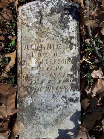 GREGORY, ALVENIE P. - Washington County, Arkansas | ALVENIE P. GREGORY - Arkansas Gravestone Photos