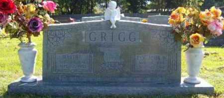 GRIGG, JOHN WESLEY, REV. - Washington County, Arkansas | JOHN WESLEY, REV. GRIGG - Arkansas Gravestone Photos