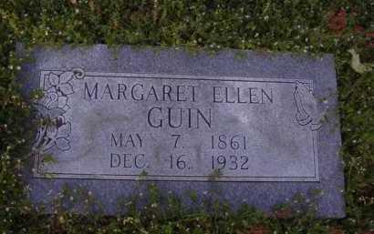 GUIN, MARGARET ELLEN - Washington County, Arkansas | MARGARET ELLEN GUIN - Arkansas Gravestone Photos