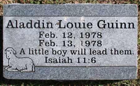 GUINN, ALADDIN LOUIE - Washington County, Arkansas | ALADDIN LOUIE GUINN - Arkansas Gravestone Photos