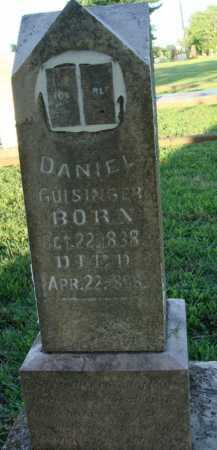 GUISINGER, DANIEL - Washington County, Arkansas | DANIEL GUISINGER - Arkansas Gravestone Photos