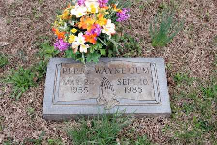 GUM, PERRY WAYNE - Washington County, Arkansas | PERRY WAYNE GUM - Arkansas Gravestone Photos