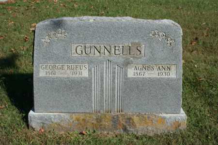 GUNNELLS, GEORGE RUFUS - Washington County, Arkansas | GEORGE RUFUS GUNNELLS - Arkansas Gravestone Photos