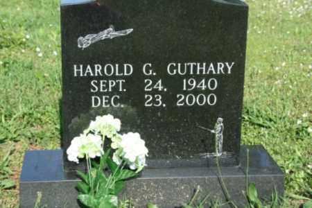 GUTHARY, HAROLD G. - Washington County, Arkansas | HAROLD G. GUTHARY - Arkansas Gravestone Photos