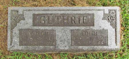 GUTHRIE, EDITH - Washington County, Arkansas | EDITH GUTHRIE - Arkansas Gravestone Photos
