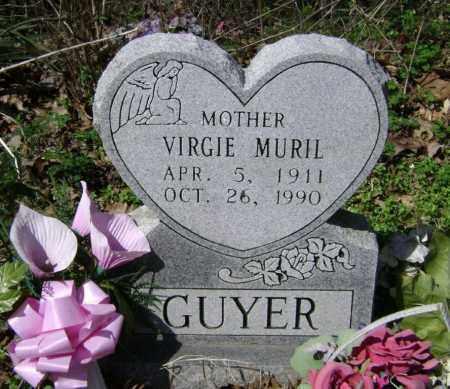 HUTCHENS GUYER, VIRGIE MURIEL - Washington County, Arkansas | VIRGIE MURIEL HUTCHENS GUYER - Arkansas Gravestone Photos
