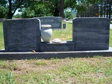 TODD HALL, PEGGY - Washington County, Arkansas | PEGGY TODD HALL - Arkansas Gravestone Photos