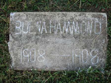 HAMMOND, BUENA - Washington County, Arkansas | BUENA HAMMOND - Arkansas Gravestone Photos