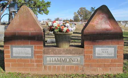 HAMMOND, CLARENCE ALEX - Washington County, Arkansas | CLARENCE ALEX HAMMOND - Arkansas Gravestone Photos