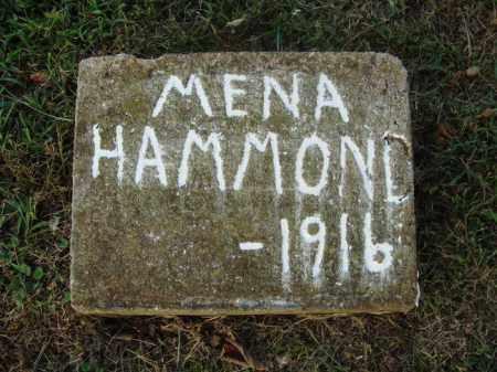 HAMMOND, MENA - Washington County, Arkansas | MENA HAMMOND - Arkansas Gravestone Photos