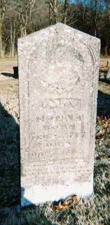 HANNA, MARY - Washington County, Arkansas   MARY HANNA - Arkansas Gravestone Photos