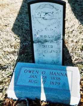 HANNA, OWEN O. - Washington County, Arkansas | OWEN O. HANNA - Arkansas Gravestone Photos