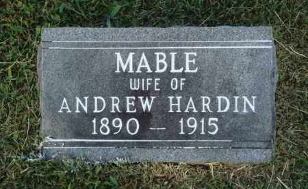 HARDIN, MABLE - Washington County, Arkansas | MABLE HARDIN - Arkansas Gravestone Photos